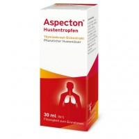 Капли от кашля для детей ASPECTON Hustentropfen 30 мл Aspecton