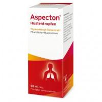 Капли от кашля для детей ASPECTON Hustentropfen 50 мл Aspecton