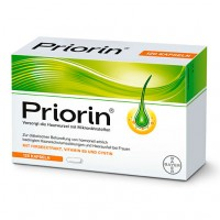 Витамины для роста волос PRIORIN Neu Kapseln 120 капсул Bayer