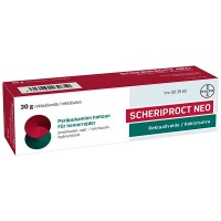 Мазь от гемороя SCHERIPROCT NEO 1,5/5 MG/G REKTAALIVOIDE 30 гр Bayer