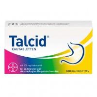 Жевательные таблетки от изжоги TALCID Kautabletten 100 шт Bayer