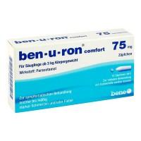 Свечи от боли и лихорадки для детей BEN-U-RON 75 mg Suppositorien 10 шт BEN-U-RON