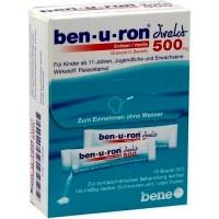 Гранулы жаропонижающие с парацетамолом BEN-U-RON direkt 500 mg Granulat Erdbeer/Vanille 10 шт BEN-U-RON