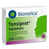 Таблетки от болей в горле TONSIPRET Tabletten 100 шт Bionorica