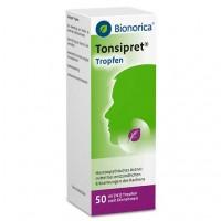 Капли для лечения горла TONSIPRET Tropfen 50 мл Bionorica