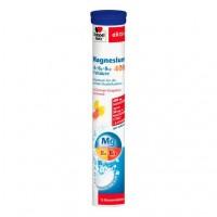 Шипучие таблетки с магнием и витамином B DOPPELHERZ Magnesium 400+B-Vit.+Fols.Brausetabl.15 шт DoppelHerz