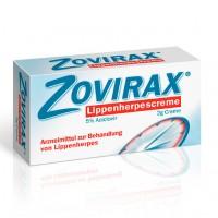 Крем в тубе от герпеса ZOVIRAX Lippenherpes Creme 2 гр GSK