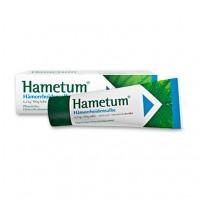 Мазь для помощи при геморрое HAMETUM Hämorrhoiden Salbe 25 гр HAMETUM
