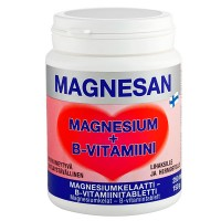 Витамины с магнием Magnesan Magnesium+B Vitamiini 250 таблеток Hankintatukku