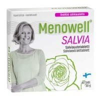 Витамины Menowell Salvia для женщин 60 таблеток Hankintatukku