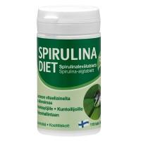 Препарат из микроводорослей спирулина для похудания Spirulina Diet 115 таблеток Hankintatukku