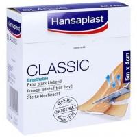 Пластырь HANSAPLAST Classic Pflaster 4 cm x 5 m HANSAPLAST
