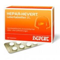 Гомеопатические лекарства для печени и желчных протоков HEPAR HEVERT Lebertabletten SL 100 шт HEVERT