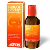 Гомеопатические лекарства для печени и желчных протоков HEPAR HEVERT Lebertropfen 100 мл HEVERT