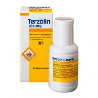 Раствор противогрибковый TERZOLIN 2% Lösung 60 мл Johnson&Johnson