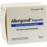 Капсулы для профилактики пищевой аллергии ALLERGOVAL Kapseln 100 шт Kohler