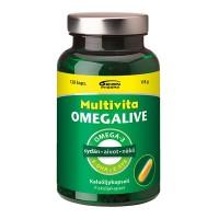 Рыбий жир MULTIVITA OMEGALIVE BASIC KAPS 120 капсул MultiVita