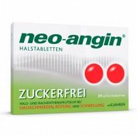 Препарат от боли в горле без сахара Neo Angin Halstabletten zuckerfrei 24 шт NEO ANGIN