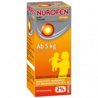 Сироп от лихорадки апельсиновый Junior Fiebersaft Orange 2% 150 мл Nurofen