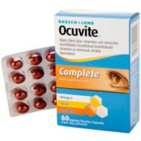 Витаминный комплекс для глаз OCUVITE COMPLETE 60 капсул OCUVITE COMPLETE