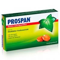 Таблетки от кашля со апельсина и ментола PROSPAN Husten Lutschpastillen 20 шт Prospan