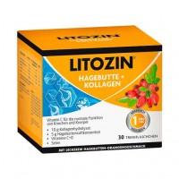 Витамины для суставов LITOZIN Hagebutte+Kollagen Trinkfläschchen 30X25 мл Queisser Pharma
