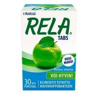 Таблетки с молочно кислыми бактериями свежее яблоко RAIKAS OMENA 30 шт Rela