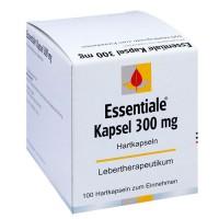 Капсулы Эссенциале для здоровья печени ESSENTIALE Kapseln 300 mg 100 шт KLOSTERFRAU