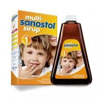 Сироп мультивитаминный для маленьких детей от 1 года MULTI SANOSTOL Sirup 300 гр Sanostol