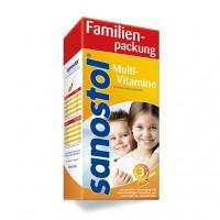 Сироп мультивитаминный для детей от 3 лет SANOSTOL Saft 780 мл Sanostol