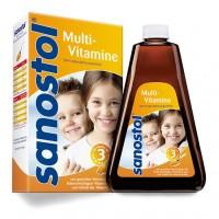 Сироп мультивитаминный для детей от 3 лет SANOSTOL Saft 230 мл Sanostol