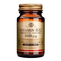 Таблетки с витамином B12 Solgar B12-Vitamiini 1000 µg 100 шт Solgar