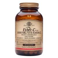 Витамин С в таблетках Ester C Plus 1000 мг 180 шт Solgar