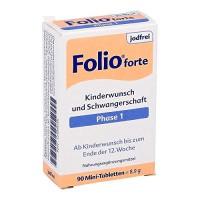 Витамины для беременных с 13 мнедели без йода  FOLIO 2 jodfrei Filmtabletten 90 шт SteriPharm