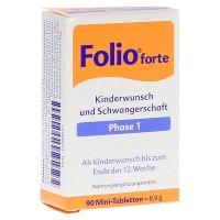 Витамины для беременных до 12 мнедели FOLIO 1 forte Filmtabletten 90 шт SteriPharm