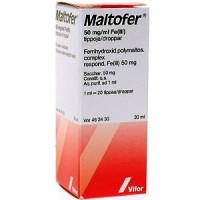 Железо в каплях MALTOFER 50 MG/ML 30 мл Vifor Pharma
