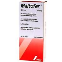 Железо MALTOFER 100 мг 50 жевательных таблеток Vifor Pharma
