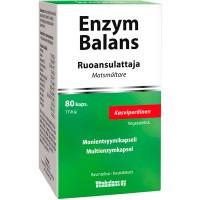 Фермент для пищеварения Enzym Balans 80 капсул Vitabalans