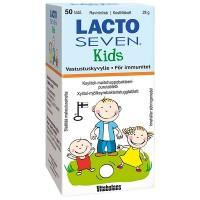 Молочно-кислые бактерии для детей LACTOSEVEN KIDS 50 таблеток Vitabalans