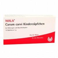 Свечи с тмином от коликов для младенцев CARUM carvi Kinderzäpfchen 10X1 гр WALA