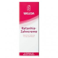 Зубная паста с крамерией WELEDA Ratanhia Zahncreme 75 мл Weleda