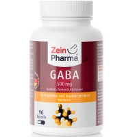 Препарат от стрессов GABA 500 мг KAPSELN 90 капсул Zein Pharma