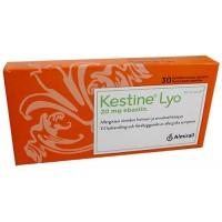Таблетки от аллергии покрытые оболочкой KESTINE Lyo 20 мг 30 шт. Almirall