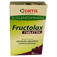 Витамины Fructolax с ревнем для нормальной работы кишечника 30 таблеток Ortis