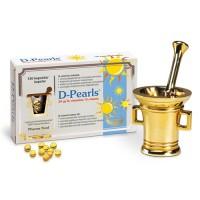 Витамин D-Pearls 20 µg 120 капсул Pharma Nord