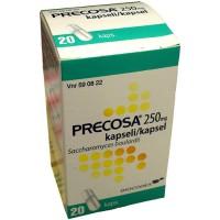Капсулы для лечеия диареи Precose 250 мг 20 капсул Precose