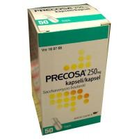 Капсулы для лечеия диареи Precose 250 мг 50 капсул Precose
