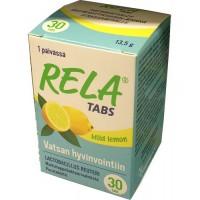 Таблетки с молочно-кислыми бактериями со вкусом лимона Rela Lemon (жевательные таблетки) 30 таблеток Rela
