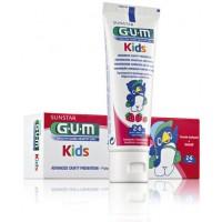 Паста зубная для Детей от 2 до 6 лет GUM KIDS 50 мл Sunstar