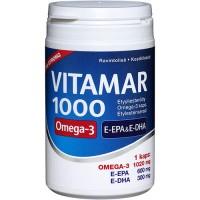 Витамины Рыбий жир Vitamar 1000 очень сильный Омега 3 100 капсул Hankintatukku